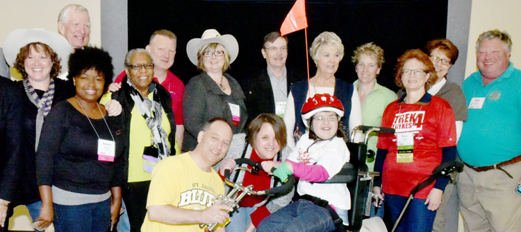 National AMBUCS, Inc. is a nonprofit charitable organization with a diverse membership dedicated to creating mobility and independence for people with disabilities.