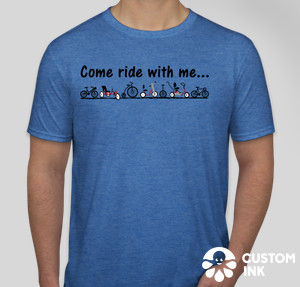 Come Ride with Me tshirt