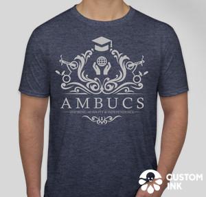 AMBUCS Crest tshirt
