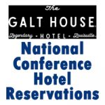 Book your hotel room for National Conference here! Deadline: Wednesday, August 11
